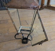 Original Copper Lantern With Working Door