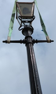 Excellent Tapered Lamp Post