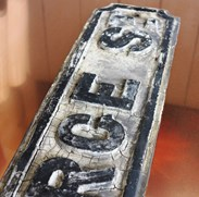 Image 4 - Original Cast Iron 'GEORGE ST' Street Sign