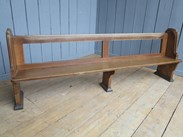 Circa 1880 - reclaimed Church Pews from UKAA