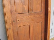 Reclaimed pine doors at UKAA