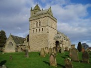 Chirnside Parish Church in Berwickshire