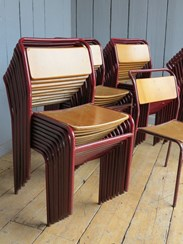 Industrial Tubular Stacking Chairs available to Buy from UKAA