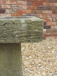 UKAA deliver Hand Carved Solid Stone Garden Bird Bath throughout the UK & Overseas