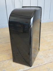 Image 3 - Black Painted Original Irish Arch Back Post Box