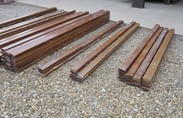 Image 2 - Hardwood Mahogany School Bench Laths