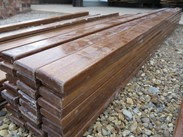 Image 4 - Hardwood Mahogany School Bench Laths