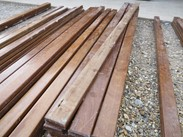 Image 5 - Hardwood Mahogany School Bench Laths
