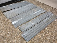 Reclaimed and Salvaged Corrugated Metal Sheeting