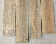 Image 5 - Antique Reclaimed Pine Square Edged Floorboards