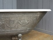 Roll Top salvaged and reclaimed cast iron baths for sale at UKAA