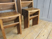 Image 2 - Vintage Wooden Stacking Chairs
