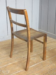 Image 5 - Vintage Wooden Stacking Chairs