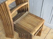 Image 6 - Vintage Wooden Stacking Chairs