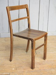 Image 3 - Vintage Wooden Reclaimed Stacking Chairs