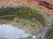 Image 1 - Antique Round Stone Garden Trough