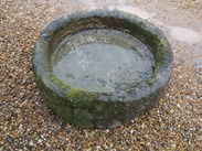 Image 4 - Antique Round Stone Garden Trough