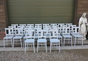 Showing all 27 Hand Painted & Distressed Church Chairs