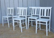 Hand Painted & Distressed Church Chairs Are Available To Buy From UKAA