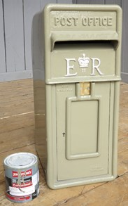UKAA Buy and Sell Genuine Royal Mail British Cast Iron Post Boxes