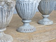 Image 4 - Pair of Antique Decorative Lead Adam Finials