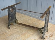 UKAA deliver Antique Reclaimed Cast Iron Table Base throughout the UK & Overseas