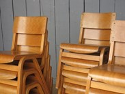Image 3 - Vintage Reclaimed Stacking Chairs