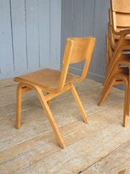 Image 5 - Vintage Reclaimed Stacking Chairs