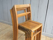 UKAA Buy and Sell Vintage Stacking Chairs
