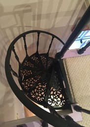 UKAA Buy and Sell Cast Iron Spiral Staircase