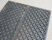 Victorian Cast Iron Floor Grilles From Churches
