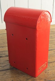 Original Cast Iron Post Box