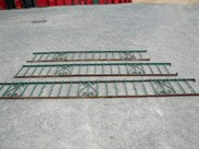 Image 1 - Original Victorian Wall Top Wrought Iron Railings