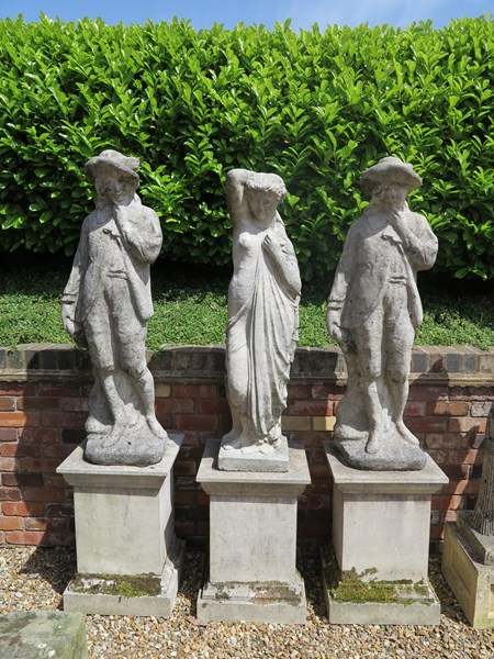 Original Antique Garden Statues