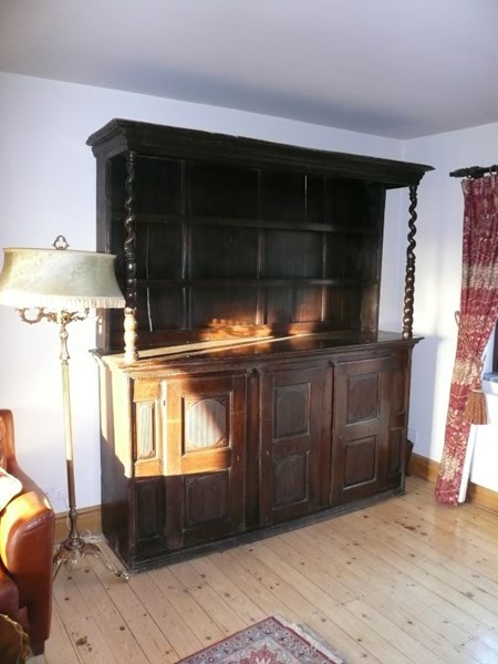 Early Period Oak Dresser