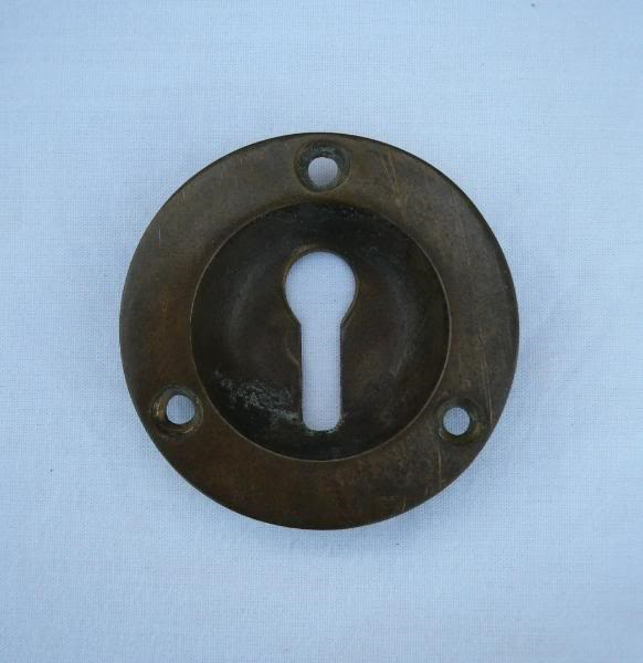 Set of 16 Brass Victorian Escutcheons