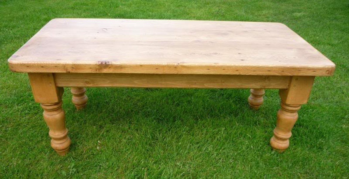 Antique Reclaimed Pine Coffee Tables