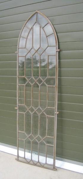Coalbrookdale Cast Iron Gothic Arched Window Frame