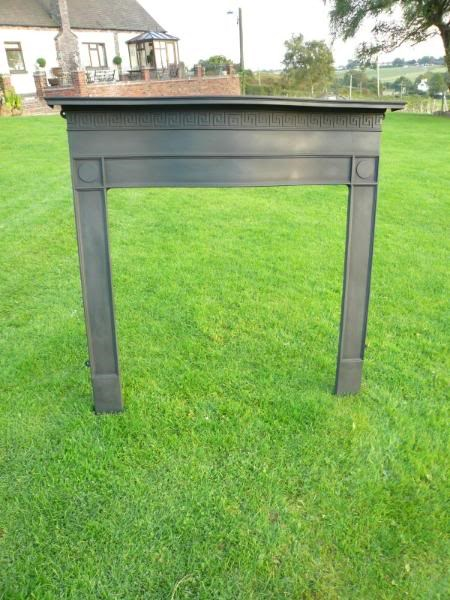 Original Cast Iron Fire Surround - Circa 1880