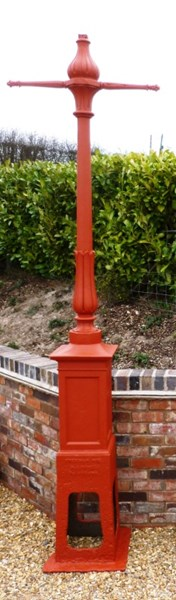 Antique Cast Iron Lamp Post