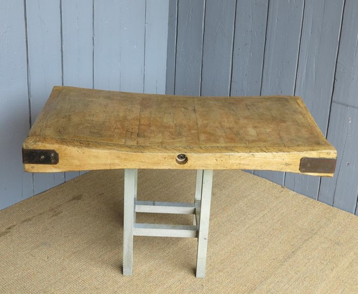 Antique Butchers Chopping Block 4ft x 2ft
