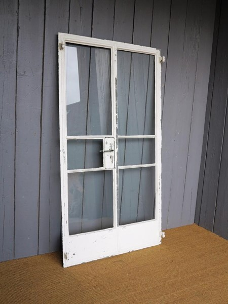 Antique Crittall Double Doors