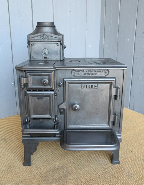 Primary Image - Antique Reclaimed Kitchen Range or Stove
