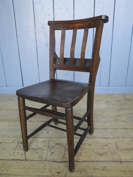 Primary Image - Victorian Church Chairs With Book Holders