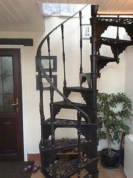 Primary Image - Cast Iron Spiral Staircase