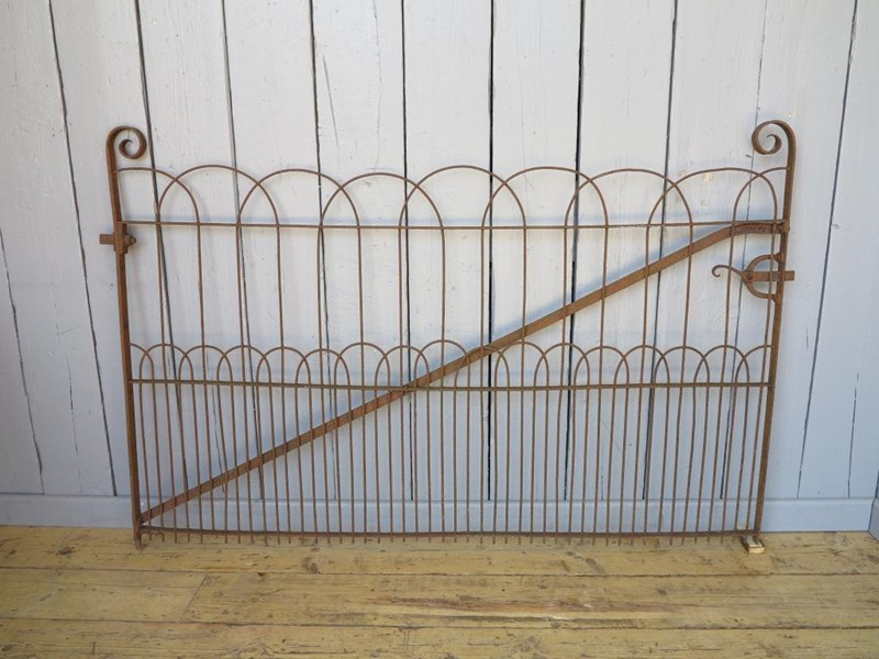 Primary Image - Victorian Wrought Iron Pedestrian Estate Gate