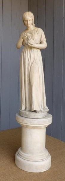 Primary Image - Antique Coade Statue
