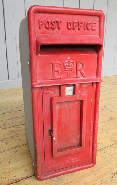 Primary Image - Arch Back Royal Mail Post Box With Cage