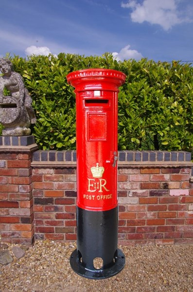 Primary Image - Royal Mail Cast Iron ER Pillar Box