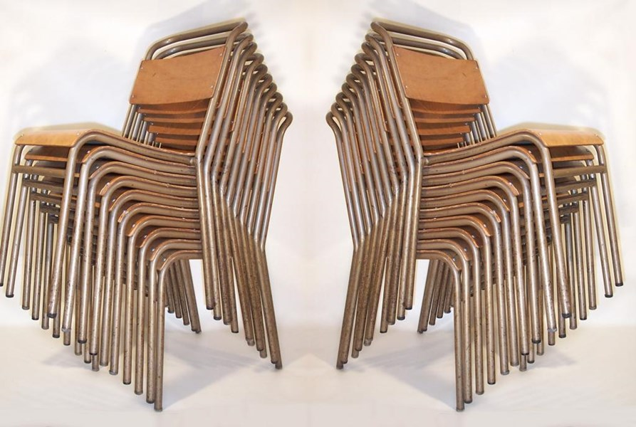 Primary Image - Remploy Tubular Steel Stacking Chairs